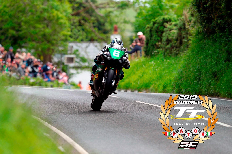 Moto Paton Michael Dunlop 2019 TT winner